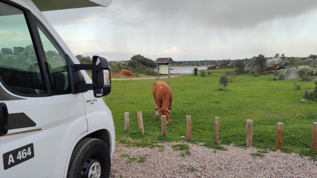Extremadura en autocaravana - Monumento Natural de Los Barruecos